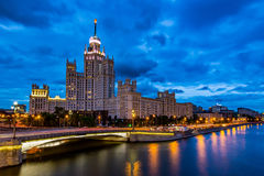 Kotelnicheskaya Embankment Building Royalty Free Stock Photography
