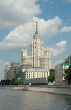 Kotelnicheskaya Embankment Building (1952), Moscow, Russia Stock Image