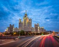 Kotelnicheskaya Embankment Building Royalty Free Stock Image