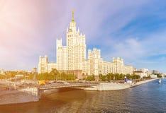 The Kotelnicheskaya skyscraper Royalty Free Stock Photography