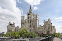 Kotelnicheskayadijk, Moskou stock fotografie