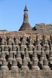 Kothaung Temple, Mrauk U ,Rakhine state ,Myanmar Stock Image