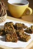 Kothimbir Vadi is a starter snack from maharashtra Royalty Free Stock Photos