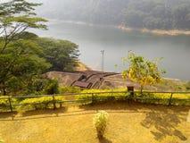 Kothmale represa acima Sri Lanka lateral Imagens de Stock Royalty Free