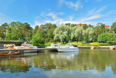 λιμενικό kotka της Φινλανδίας Στοκ Εικόνες