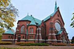 Kotka Cathedral Royalty Free Stock Photos