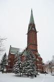 Kotka Cathedral. Stock Photos