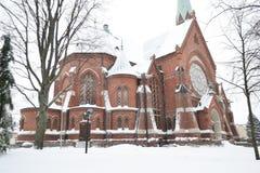 Kotka Cathedral. Stock Photo