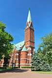 Kotka Cathedral. Finland Royalty Free Stock Photo