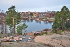 Kotka Finland royaltyfri foto