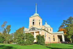 Kotka, Finland. An old orthodox church Royalty Free Stock Photo