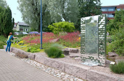 Kotka. Finland. Sapokka Water Garden Royalty Free Stock Images