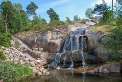 Kotka Finlandia Sapokka wody ogród Obrazy Stock