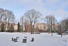 Kotka i vinter arkivfoton