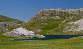 Kotlanickomeer in Zelengora-berg Royalty-vrije Stock Foto