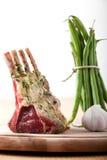 kotleciki lamb surowego Zdjęcie Stock