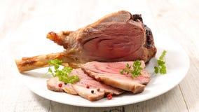 kotlett grillad lamb Royaltyfri Foto