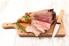kotlett grillad lamb Royaltyfria Foton