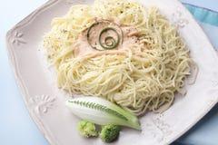 kotlettspagettisticks Royaltyfria Bilder