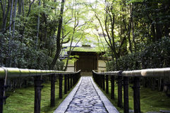 Koto-σε έναν υπο--ναό Daitoku-daitoku-ji - του Κιότο, Ιαπωνία Στοκ Εικόνα