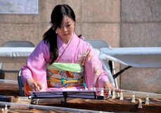 Koto artist Royalty Free Stock Photography