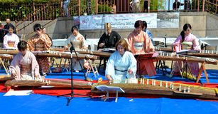 Koto artists Royalty Free Stock Image