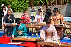Koto artists Royalty Free Stock Photography