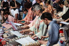 Koto players Royalty Free Stock Photography