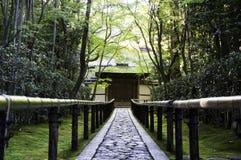 Koto-in a sub-temple of Daitoku-ji - Kyoto, Japan. Approach road to the temple, Koto-in a sub-temple of Daitoku-ji - Kyoto, Japan Stock Image