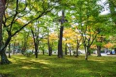 Kotoji Lantern in Kenrokuen garden Stock Photography