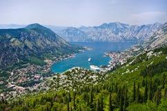 Kotor在Montenegro 库存图片