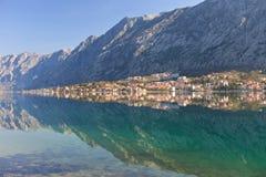 kotor Μαυροβούνιο κόλπων Στοκ φωτογραφία με δικαίωμα ελεύθερης χρήσης