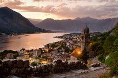 kotor Μαυροβούνιο Στοκ Φωτογραφίες