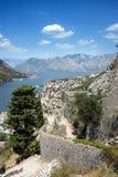 Kotor в Черногори Стоковая Фотография RF