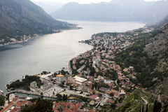 Kotor. Photographie stock