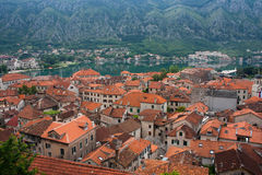 Kotor from above Royalty Free Stock Photo