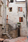 Kotor Alley Stock Photography