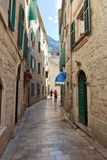 Kotor Alley Royalty Free Stock Images
