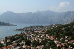 Kotor bay. In Montenegro (Europe Stock Images