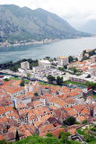 Kotor Bay And Old Town. Stock Image