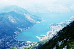 Kotor bay(Boka Kotorska),Montenegro Stock Photography