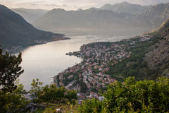 Kotor Bay Royalty Free Stock Photography
