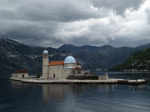 Kotor Bay Islands Royalty Free Stock Photos