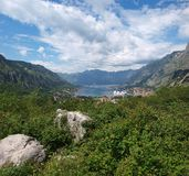Kotor Bay, Montenegro Royalty Free Stock Image