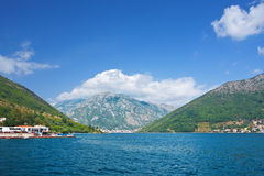 Kotor bay, Montenegro Royalty Free Stock Photo
