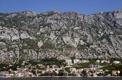 Kotor bay, Montenegro Royalty Free Stock Image