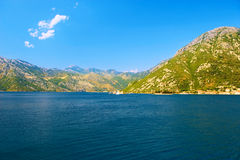 Kotor Bay in Montenegro Royalty Free Stock Photos