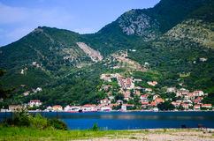 Kotor bay Montenegro Royalty Free Stock Photos