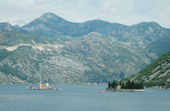 Kotor bay (Montenegro, Adriatic sea) Royalty Free Stock Photo