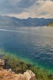 Kotor bay, Montenegro. Kotor bay, Cattaro, is a winding bay of the Adriatic Sea in southwestern Montenegro Royalty Free Stock Photo